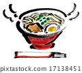 料理 拉面 盘 17138451
