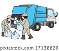 商人 垃圾車 廢物處理 17138820