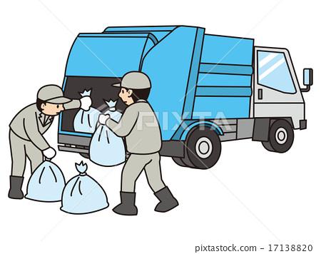 垃圾车 17138820