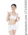 measuring, tape, diet 17143402