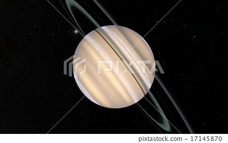 Saturn computer illustration 17145870