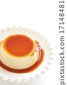 布丁 西式甜點 甜品 17148481
