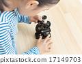 보다, 어린이, 아이 17149703