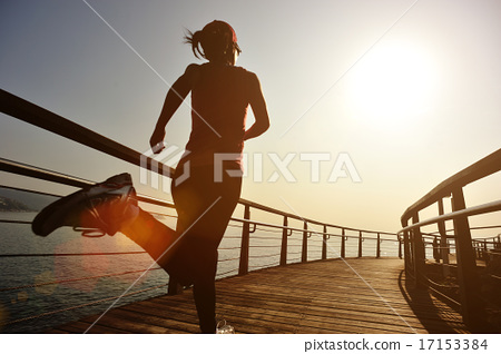 Stock Photo: healthy lifestyle sports woman running