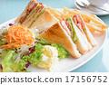 샌드위치, 빵, 고기 17156752