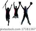 women playing softball players silhouette isolated 17161367