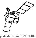 인공위성의 실루엣 035 17161809