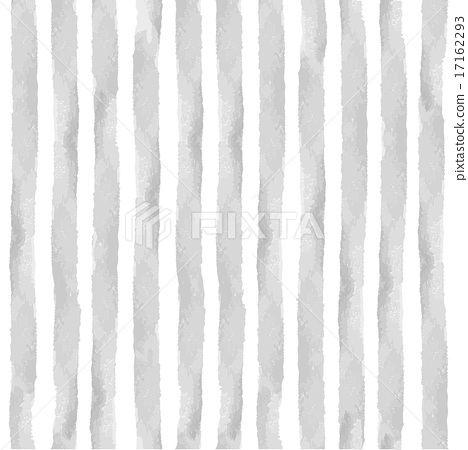 Watercolor Grey Strips Seamless Pattern SetVintage Background