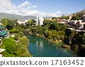 mostar, neretva, river 17163452