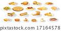 drawing, custard, pizza 17164578