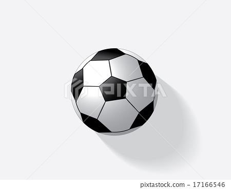 Soccer ball isolated  17166546
