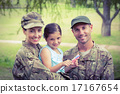 Army parents reunited with their daughter 17167654