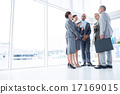 Business team listening conference 17169015