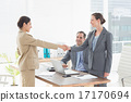 Business people conducting an interview 17170694