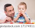 son, teaching, preparing 17174911