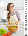 cookware, veggie, salad 17175733