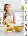 cookware, veggie, salad 17175942