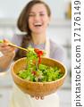 cookware, veggie, salad 17176149