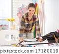 seamstress, studio, portrait 17180019
