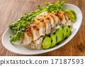 雞飯 雞肉與米飯 食物 17187593