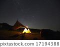 银河 夜空 帐篷 17194388