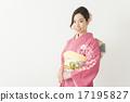 dressed in kimono, kimono, women 17195827
