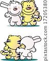 老虎 虎 插圖 17205380