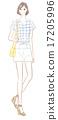 女性 时髦 时尚 17205996