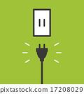 outlet, power, socket 17208029