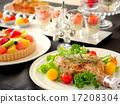 開胃菜 烤雞 宴會 17208304
