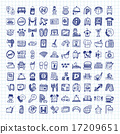 doodle hotel icons 17209651