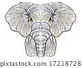 ethnic elephant 17218728