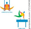 Gymnastics Icon 17219436