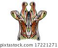 ethnic giraffe 17221271