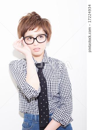 A boyish lady 17224934