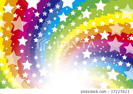 Background material wallpaper, rainbow color, rainbow color, colorful, swirl, spiral, ray, shine, star, stardust, galaxy, star 17225621
