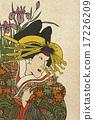 浮世繪 留白 新年賀卡材料 17226209