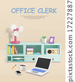 3D Desk Objects 015 17227887