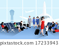 People On Airport Composition  17233943