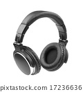 Headphones on White background 17236636