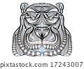 ethnic hippo 17243007