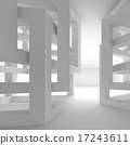 modern interior white 17243611