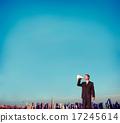Business Person Announcement information Concept 17245614