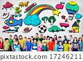 Hobby Immagination Fun Creativity Activity Inspiration Concept 17246211