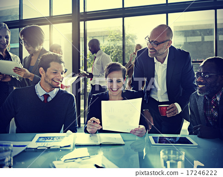 Stock Photo: Business People Corporate Meeting Board Room Concept