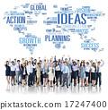 Global Business People Celebration Success Ideas Concept 17247400