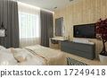 Modern bedroom intereer 17249418