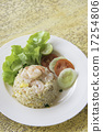 Fried rice with shrimp menu 17254806