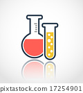 flask, beaker, vector 17254901