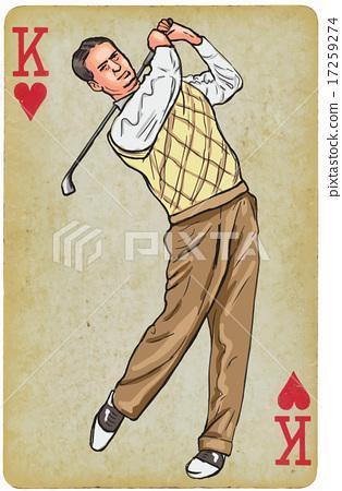 Vintage Golfer 45